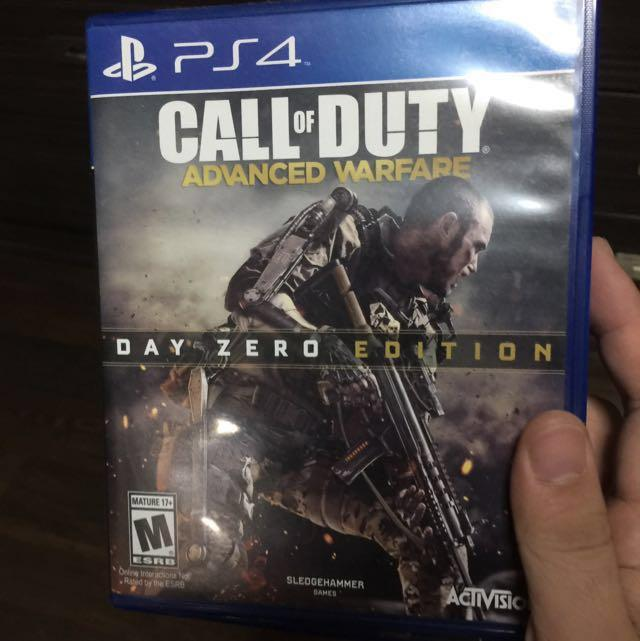 Call Of Duty Advanced Warfare Ps4 Game Toys Games Video Gaming Consoles On Carousell
