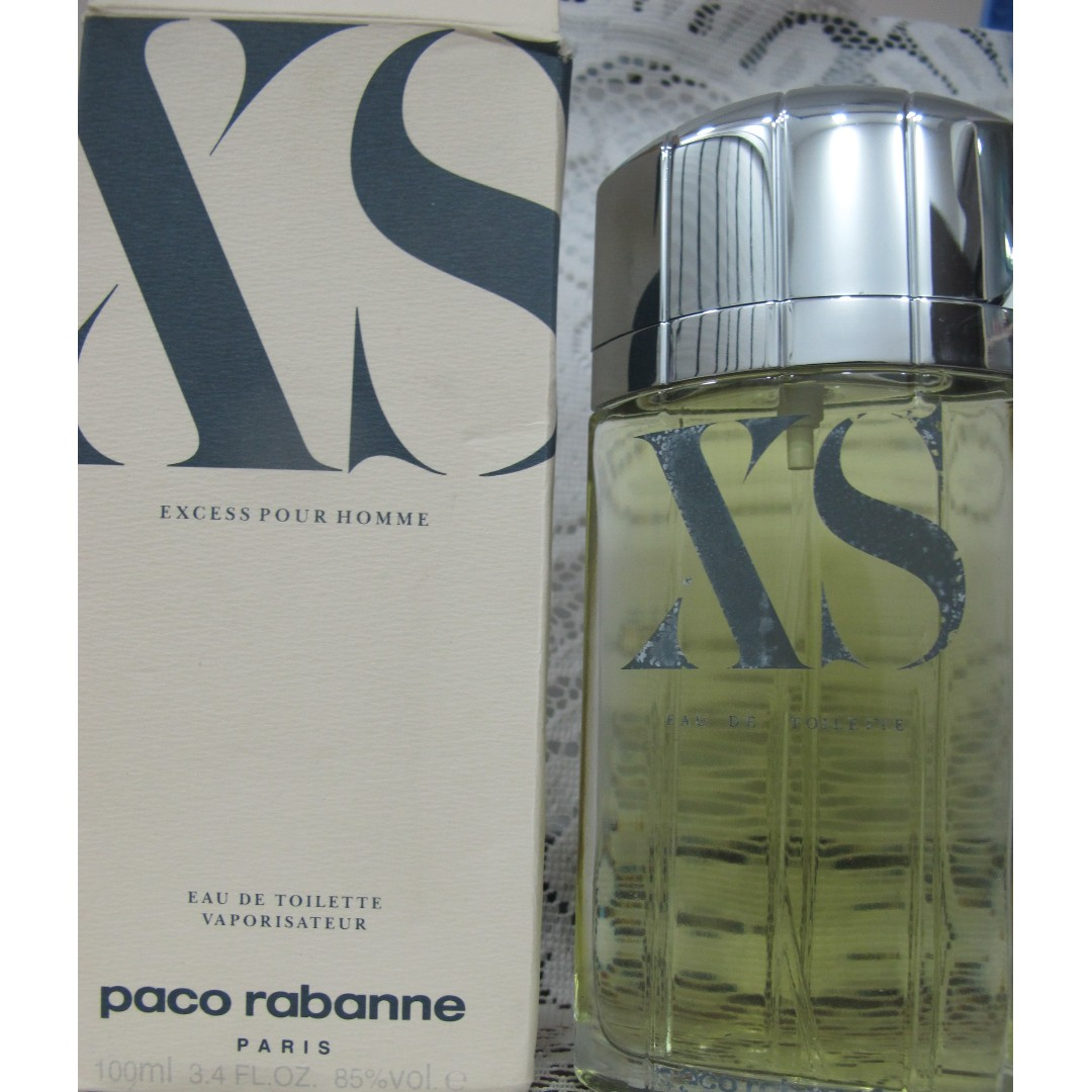 Clearance Paco Rabanne Xs Pour Homme 100ml Edt Men Perfume