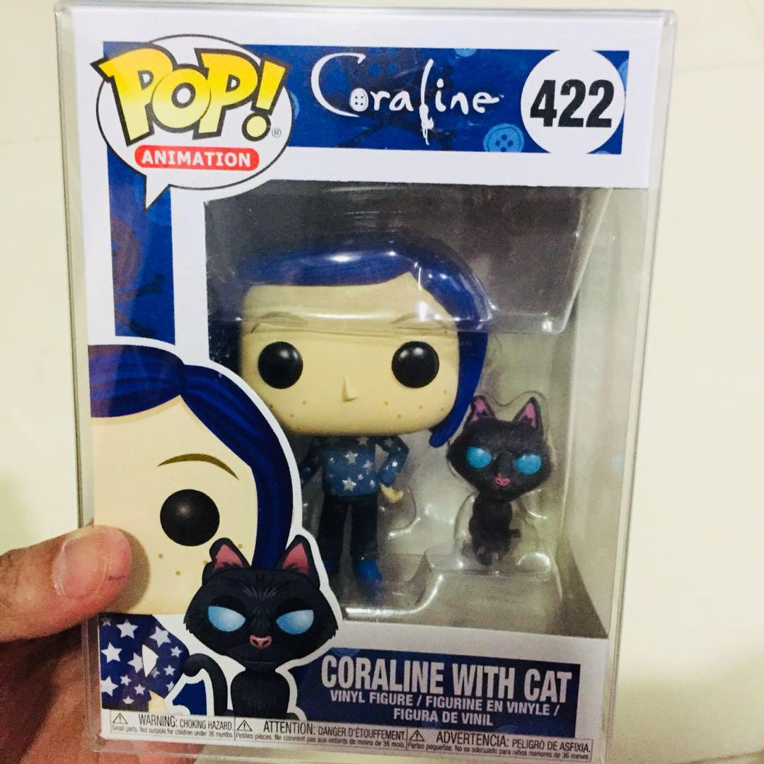 Coraline With Cat No 422 Funko Pop Toys Games Toys On Carousell