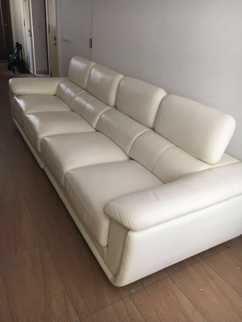 Cost over $7000 new. large 4 seater reclining sofa/sofabed