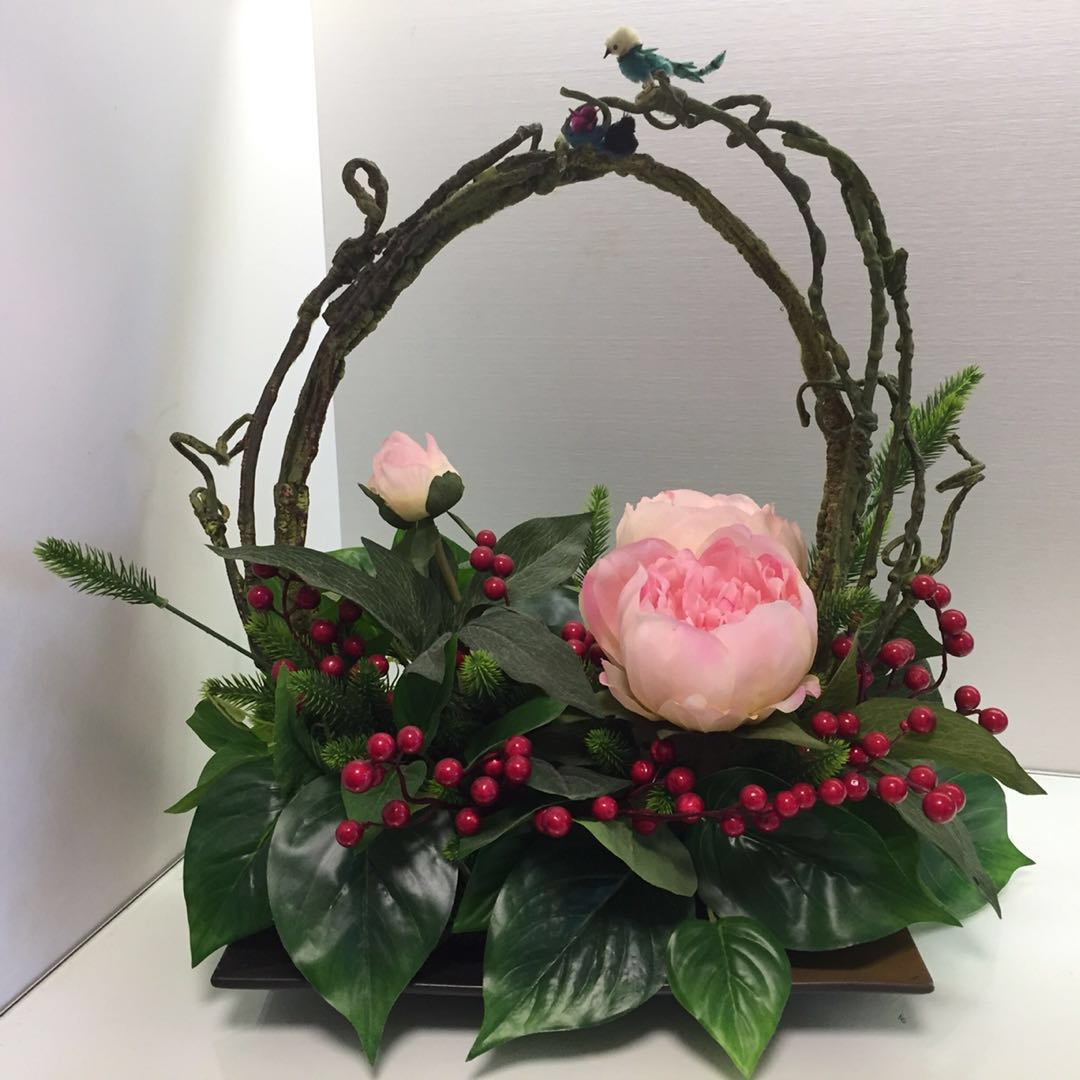 Elegant Peony Faux Flower Arrangements Luxury Accessories Others On Carousell
