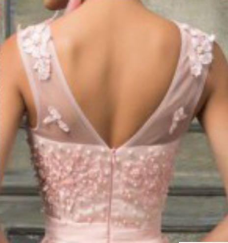 Evening Gown-baby pink