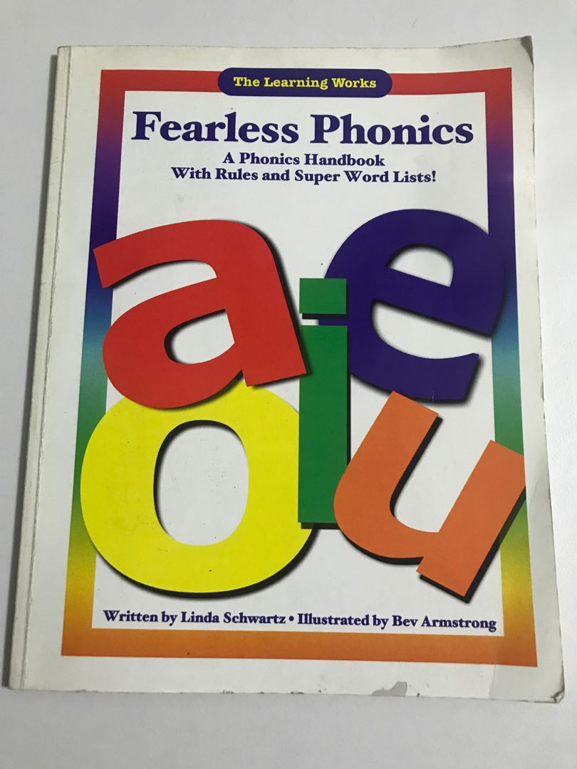 Fearless Phonics: A Phonics Handbook with Rules and Super Word List