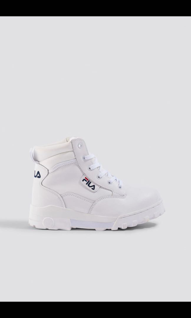 Fila Grunge Mid Boots in White