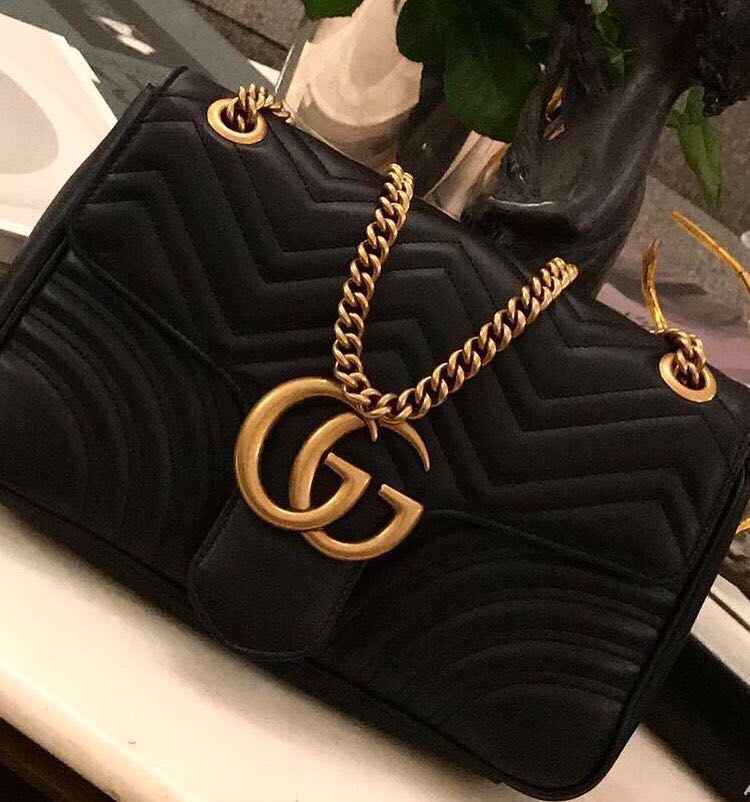 852bd4852 GUCCI MARMONT (Medium), Luxury, Bags & Wallets on Carousell