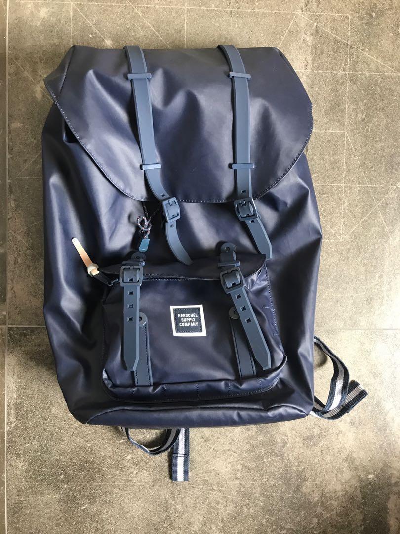fa7b0f2767 Herschel Supply Co. Little America Studio Poly Coat Backpack Full ...