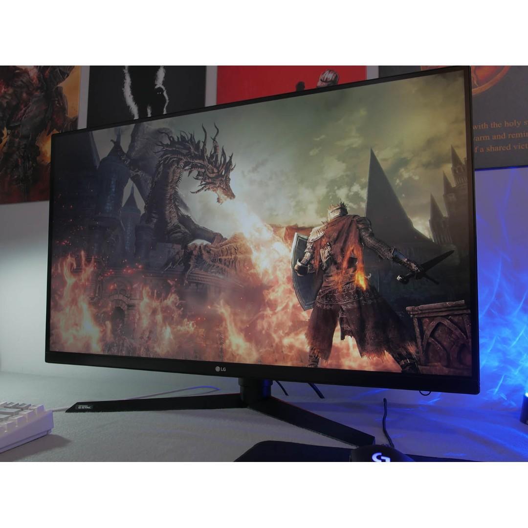 LG 32GK850G-B 144 hz Gsync ultra wide Gaming Monitor UHD
