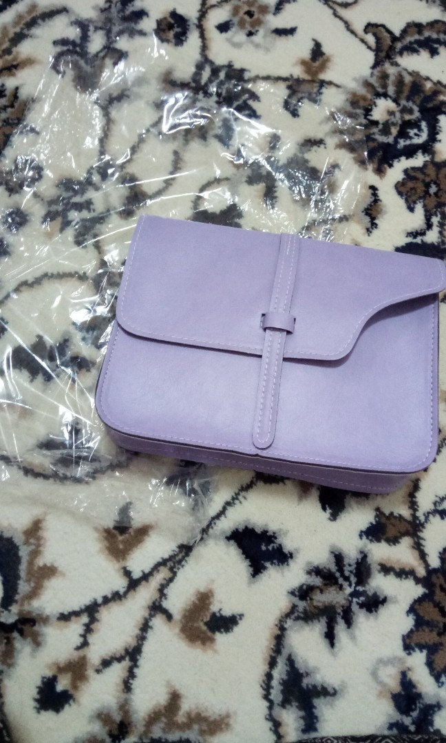 a2a6ab867 Light purple sling bag, Luxury, Bags & Wallets, Sling Bags on Carousell
