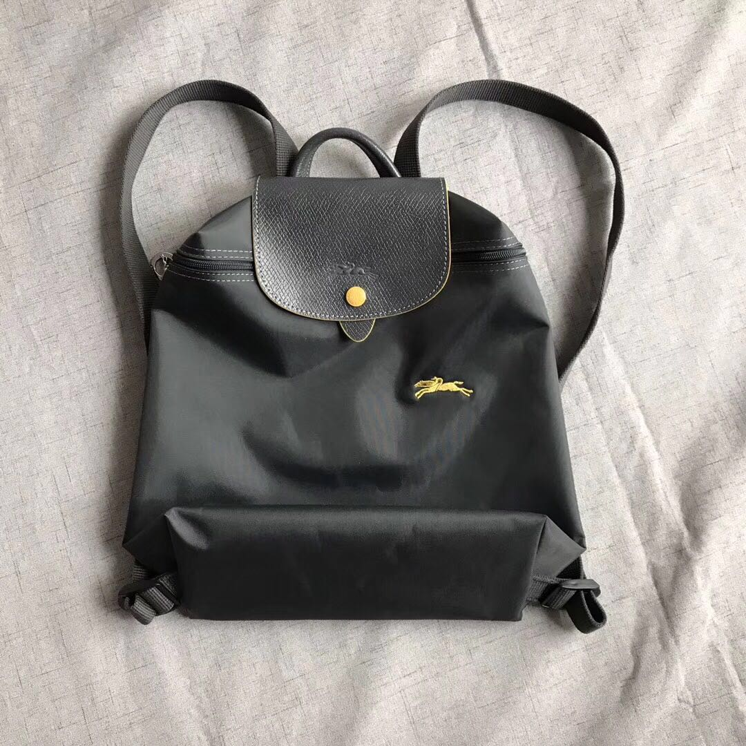 b9c07566bea8 Longchamp Club Gray Backpack