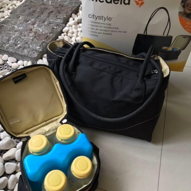 Medela Citystyle Breastpump Bag Price Reduced To Clear Babies Kids Nursing Feeding On Carousell