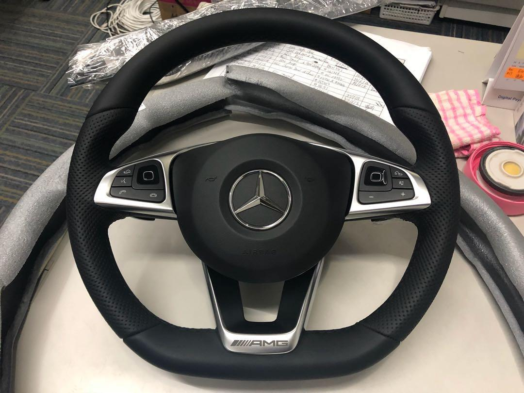 Mercedes Benz W213 Amg Steering Wheel Car Accessories Accessories On Carousell
