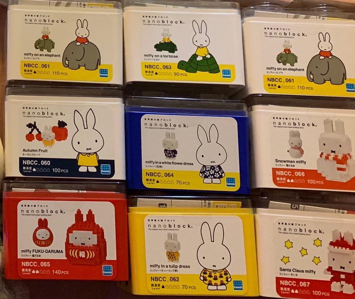 Miffy nanoblock 聖誕,新年,動物 lego