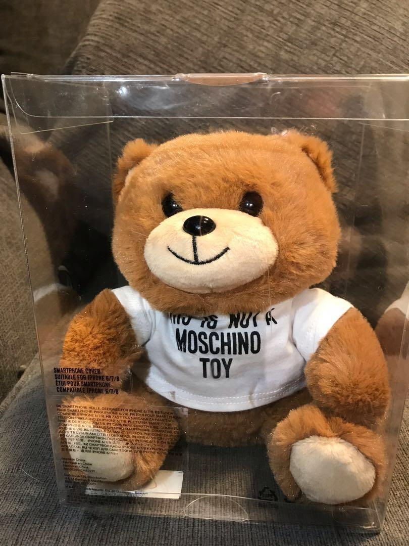 Moschino Limited Edition Teddy Bear iPhone Case