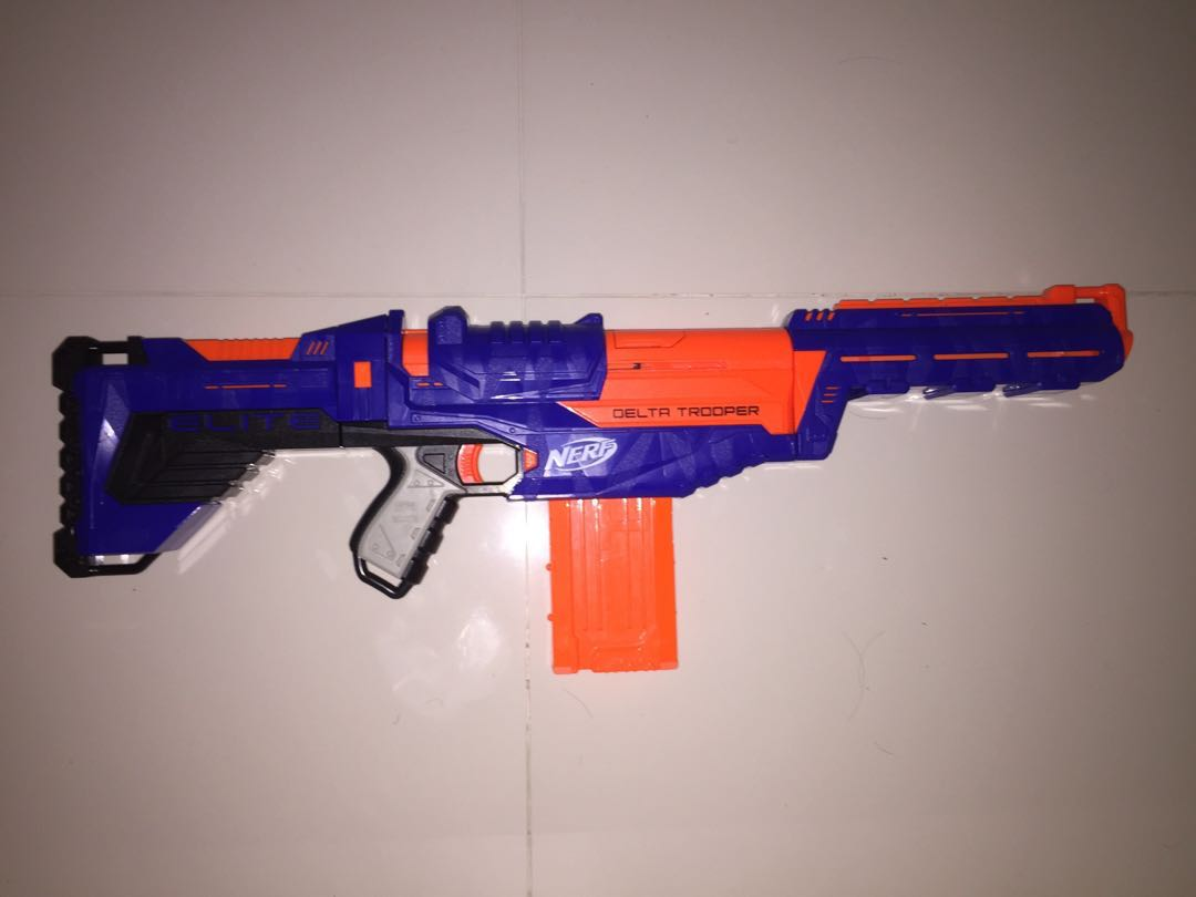Nerf Elite Delta Trooper Toys Games Others On Carousell