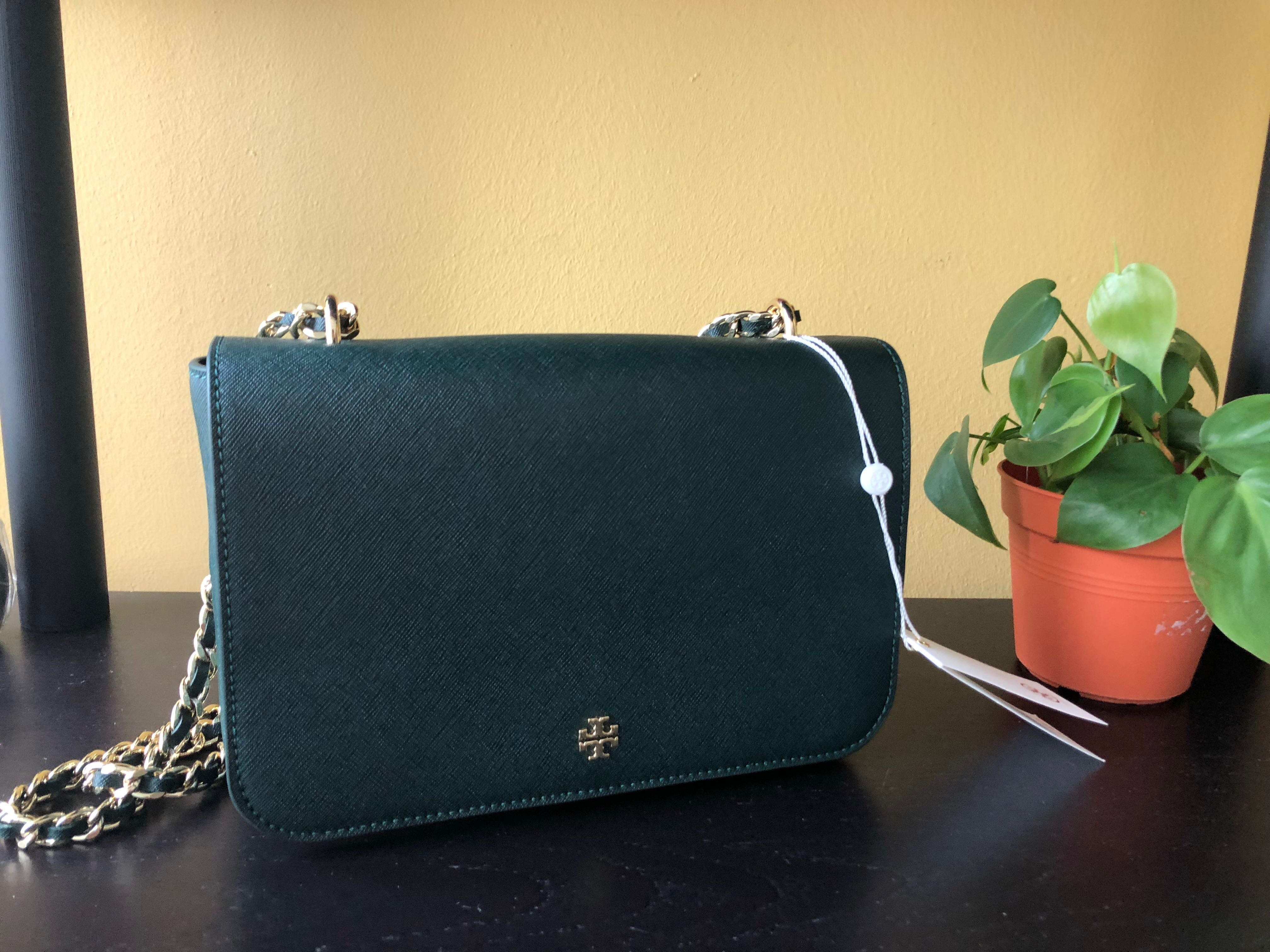c6cea82232 (New & Authentic) Tory Burch Shoulder Bag - Emerson, Women's Fashion, Bags  & Wallets, Handbags on Carousell