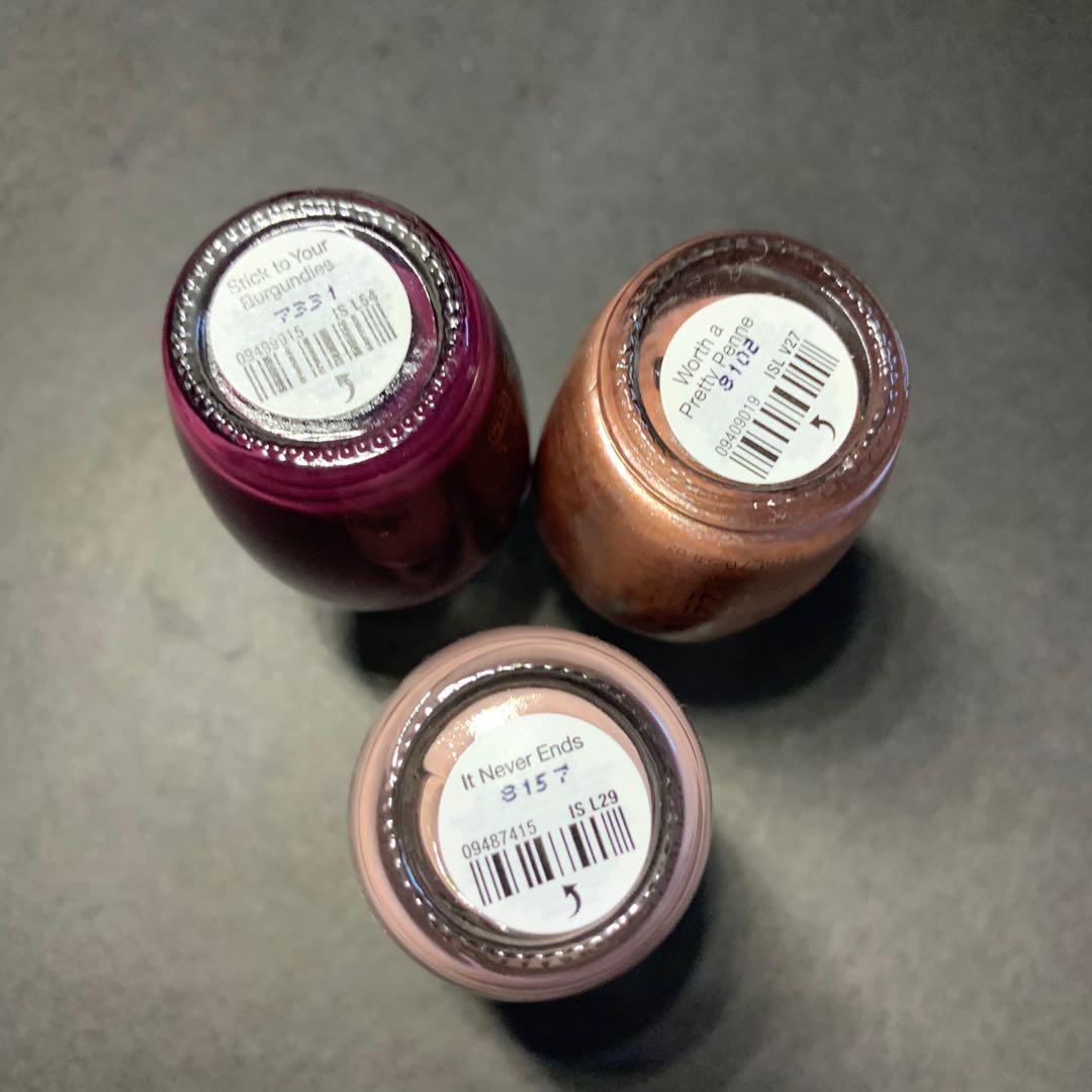 opi nail polish bundle