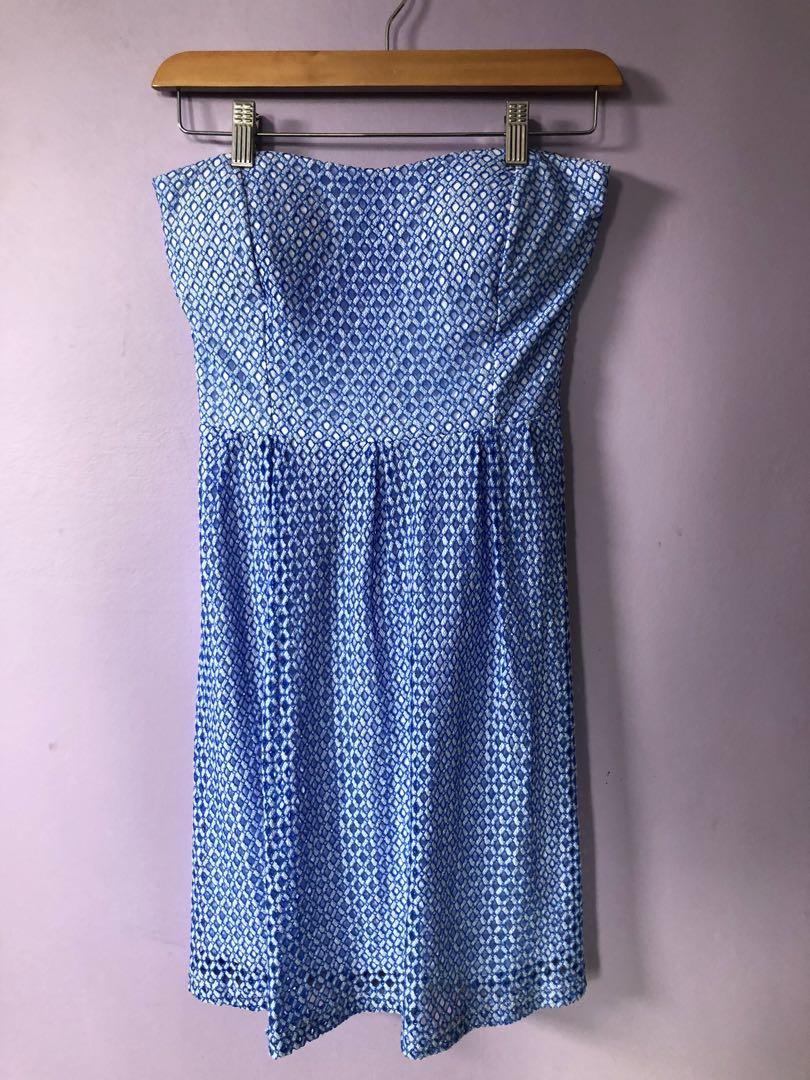 pagani strapless dress