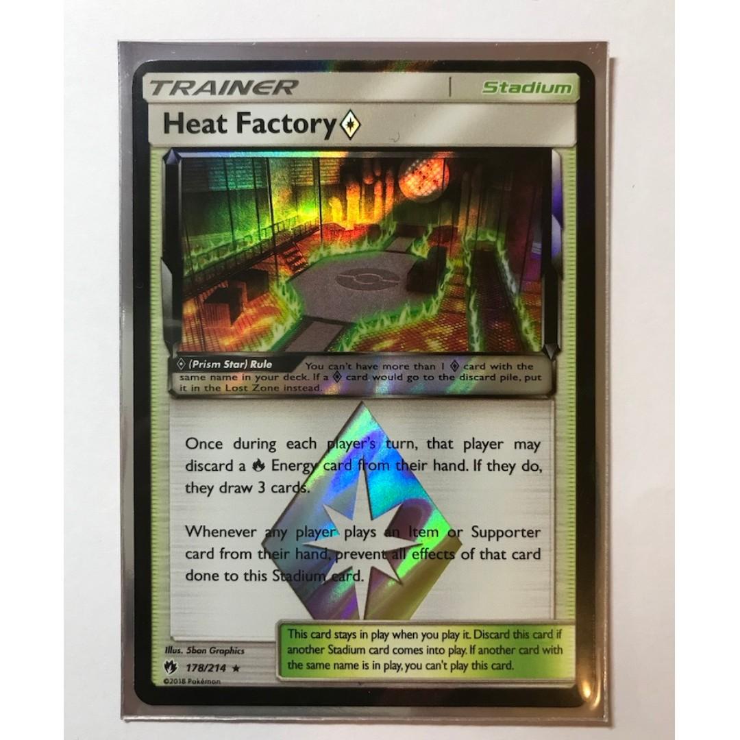 Verzamelingen Heat Factory Prism Star 178/214 Pokémon TCG Lost Thunder kaartspellen