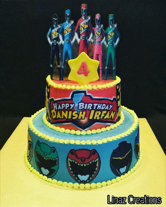 Power Rangers Birthday Cake.Brithday Cake Idea 100bobadas Power Rangers Dino Charge