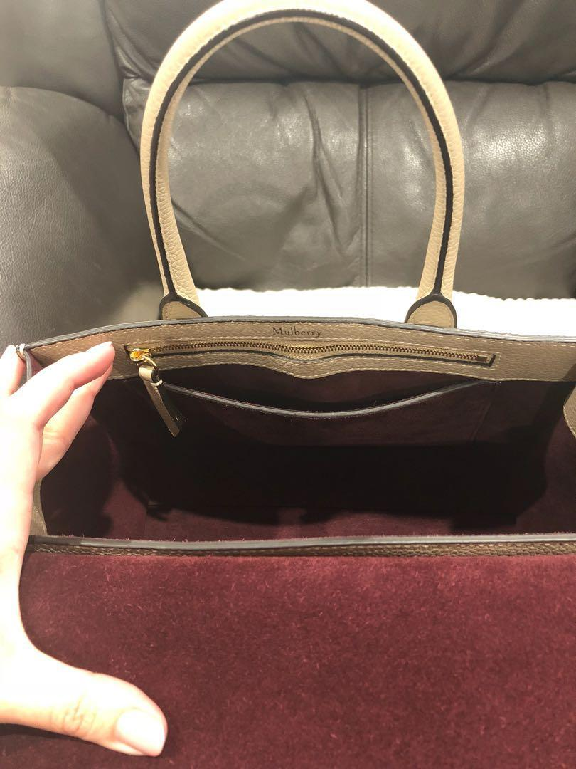 Preloved Mulberry Bayswater Small
