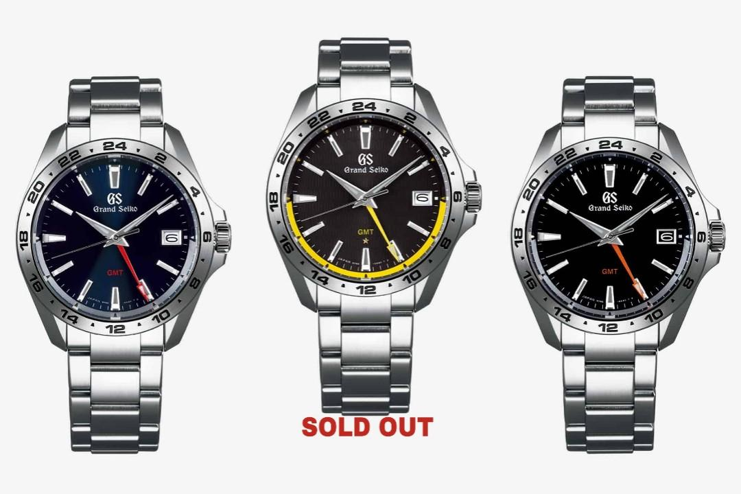 SOLD OUT] GRAND SEIKO 9F Quartz GMT SBGN003 & SBGN005, Men's