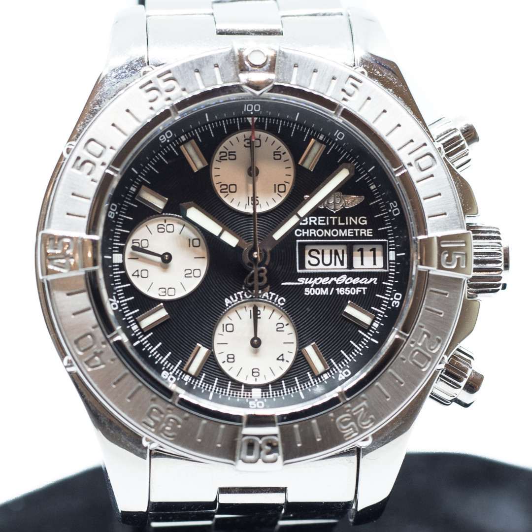 d1a22330c0c3 Preowned Breitling SuperOcean Chronograph Ref  A13340