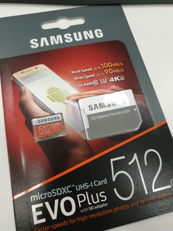 samsung Micro SD Card 512GB eco plus