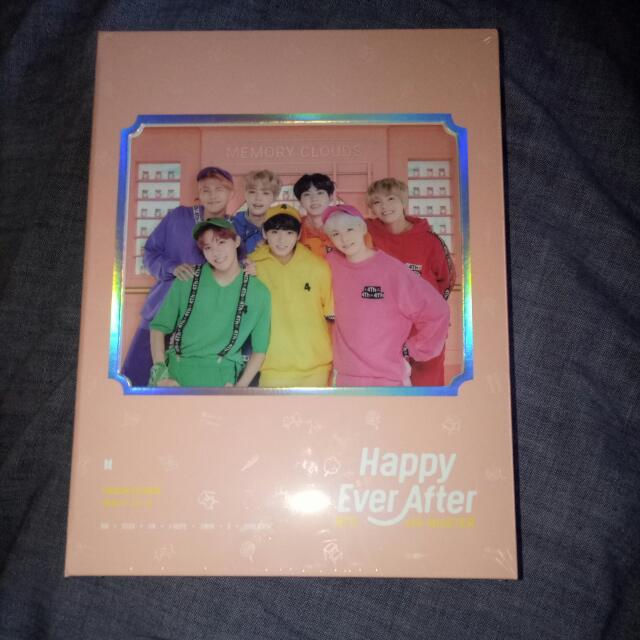 SEALED BTS 4TH MUSTER DVD