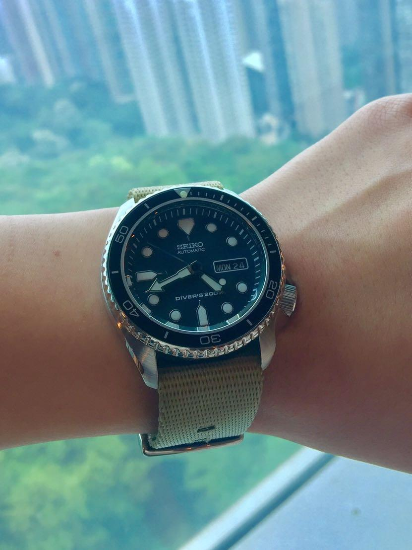 Seiko SKX 171 , Men's Fashion, Watches on Carousell
