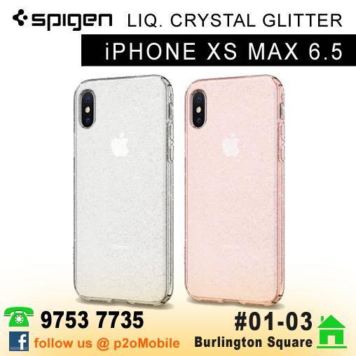 reputable site f9c0a 5b801 Spigen Liquid Crystal Glitter for iPhone XS Max