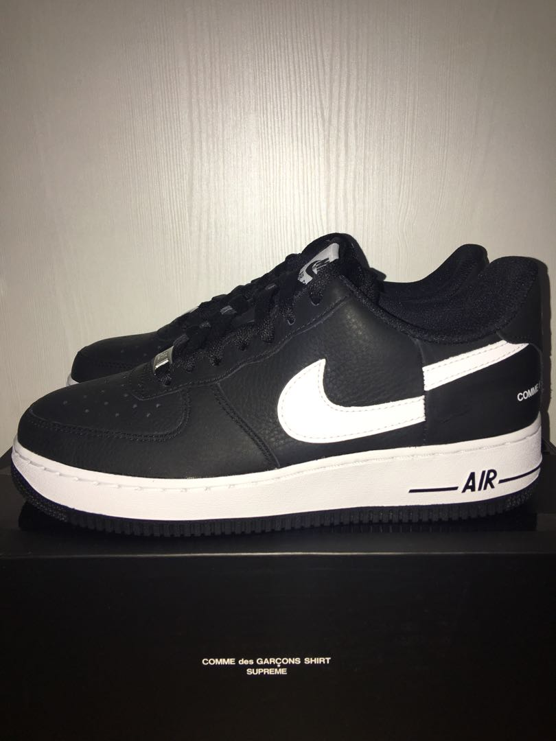 6a6280b59 Supreme Nike CDG Air Force 1, Men's Fashion, Footwear, Sneakers on ...