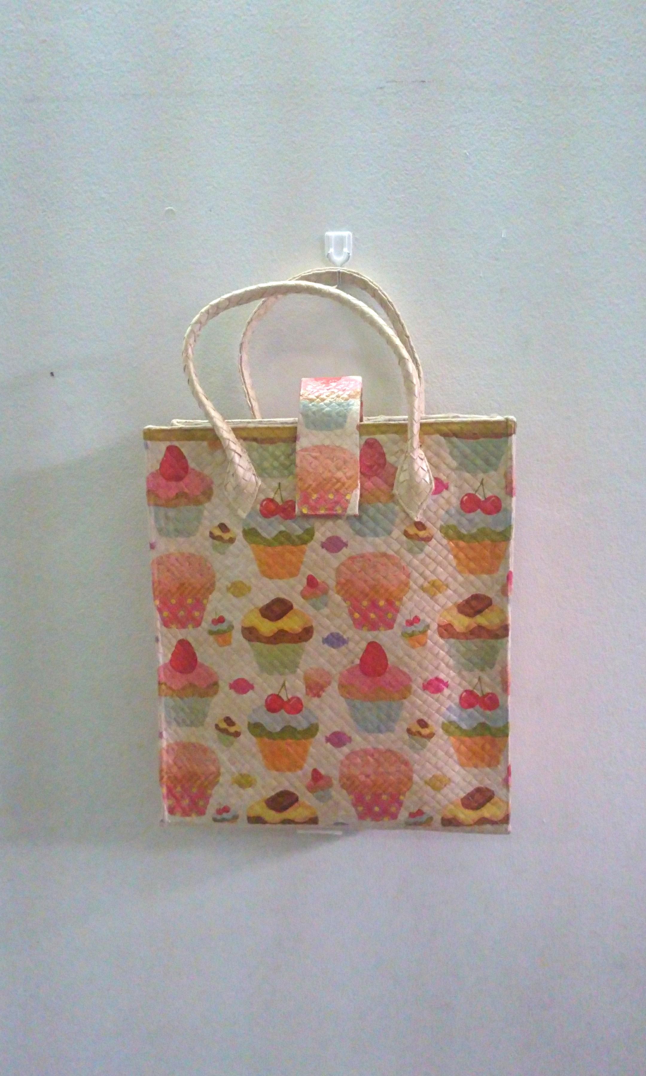 Tas Anyaman Decoupage Cupcake Handmade b3f0df3087
