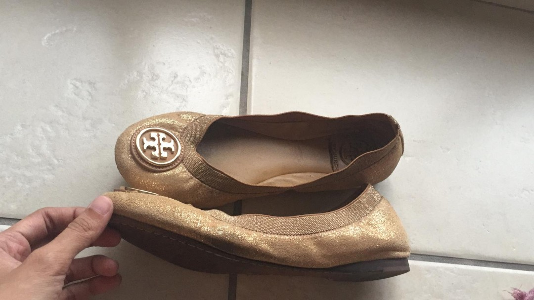 7b8db8cb5 Tory Burch Flats Ballet womens ladies leather shoes