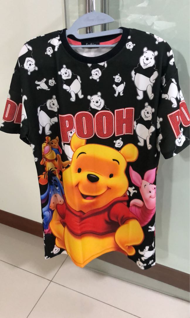 5d3031d3ae29 Winnie the Pooh dri fit top, Women's Fashion, Clothes, Tops on Carousell