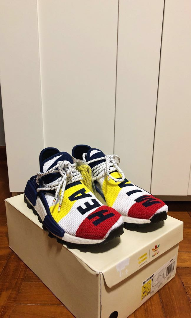 f30b5985d84 WTS BNIB Pharrell Williams BBC Human Race NMD US 7.5