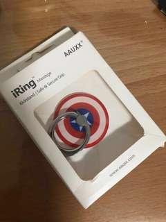 美國隊長 手機扣環#十一月良品半價