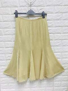 Velvet flare skirt. US Size 6 -14