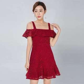Ellie Eyelet Dress
