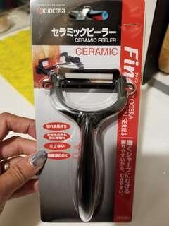 日本 Kyocera 京瓷 刨刀 ceramic peeler