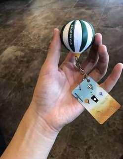 Starbucks Balloon Keychain from China