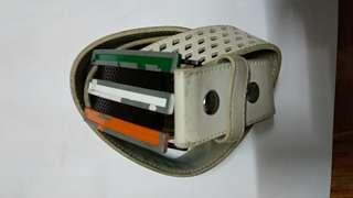 Adidas Tricolor Trophy Golf Leather Belt