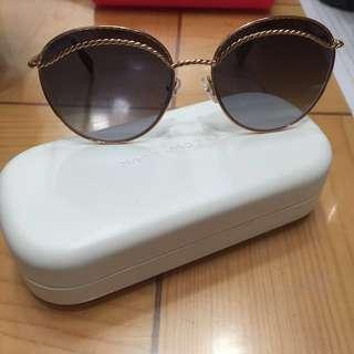 Marc Jacobs 太陽眼鏡 glasses 墨鏡 metal twist round sunglasses