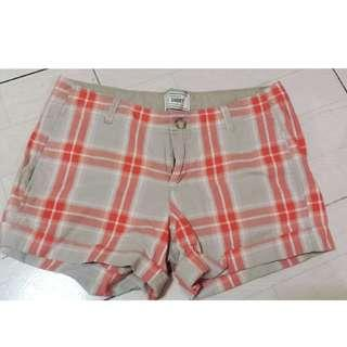 Old Navy Checkerd Short