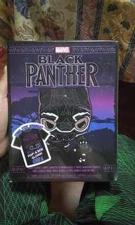 Funko Pop Black Panther with t shirt