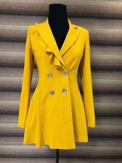 Trench Coat (mustard)