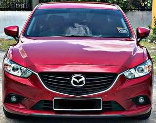 MAZDA 6 SKYACTIV 2.0 LATEST FACELIFT 2017