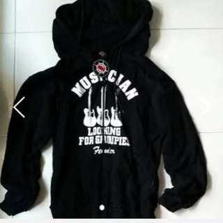 Hoody jacket 100% cotton