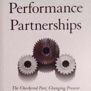 Performance Partnerships by Robert Glazer (Hardback) - Future of Affiliate Marketing (Free mailing)