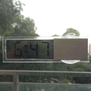 ✉️ See-thru LCD Digital Clock with Calendar (Mailed to you)