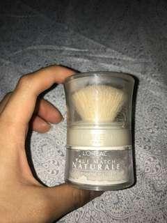 L'Oréal true match mattifying mineral finish